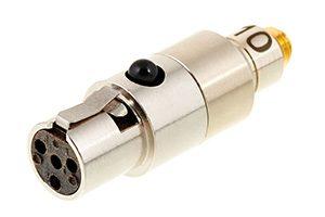 DPA DAD6010 microdot naar TA4F adapter voor DPA headset